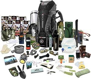 Prep Store Elite Plus - Emergency Survival Pack - 4 Day Food Supply - Survival Kit - Bugout Bag - Hurricane Emergency Kit - Survival Bag - Bug Out Bag (Elite Plus KIT)