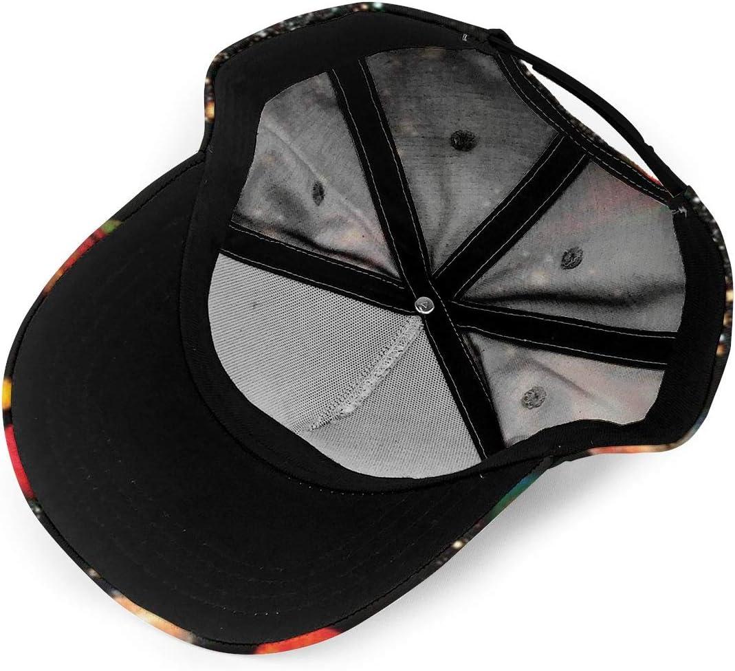 Solar System Printing Fashion Classic Baseball Cap Unisex Adjustable Velcro