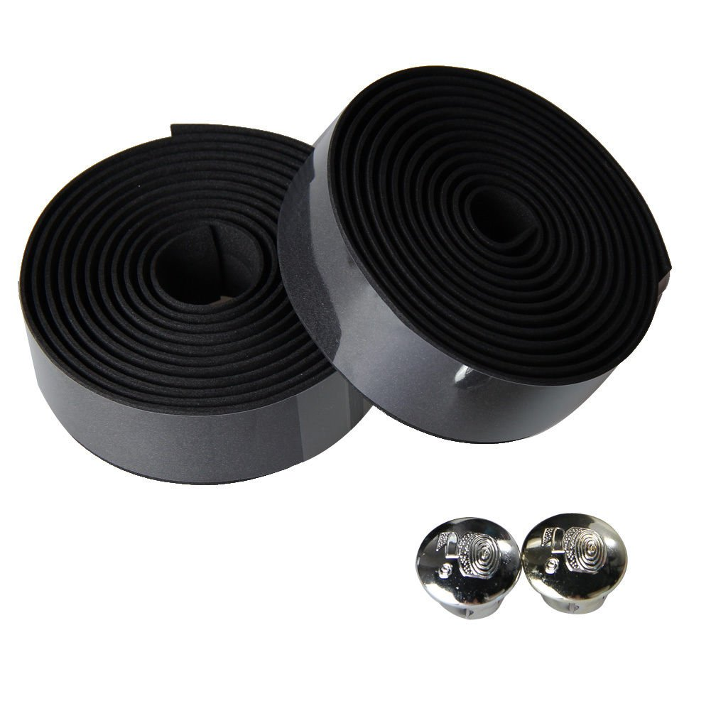 Cycling and Road Racing Laime Road Bike Bicycle Handlebar Grip Wraps Bar Tapes with Bar Plugs and Finishing Tapes for Touring