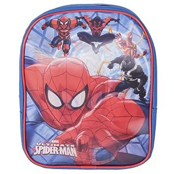Marvel 1003-5730T Ultimate Spiderman - Mochila para guardería con Imagen de Lenticular Moving (