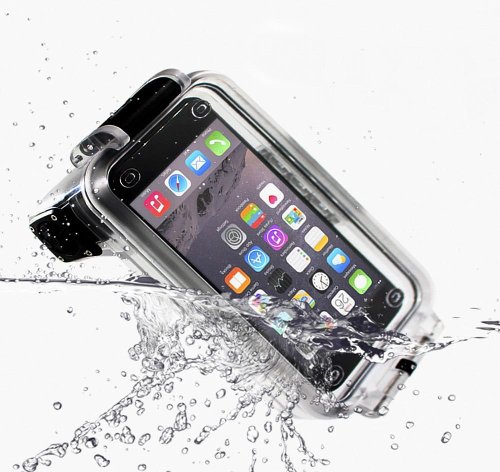 IDS Home Pixco 30m Underwater Waterproof Smartphone Diving Case with Bluetooth Remote