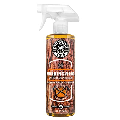 Chemical Guys AIR23016 Morning Wood Sophisticated Sandalwood Scent Air Freshener & Odor Neutralizer, 16 fl. oz, 1 Pack: Automotive