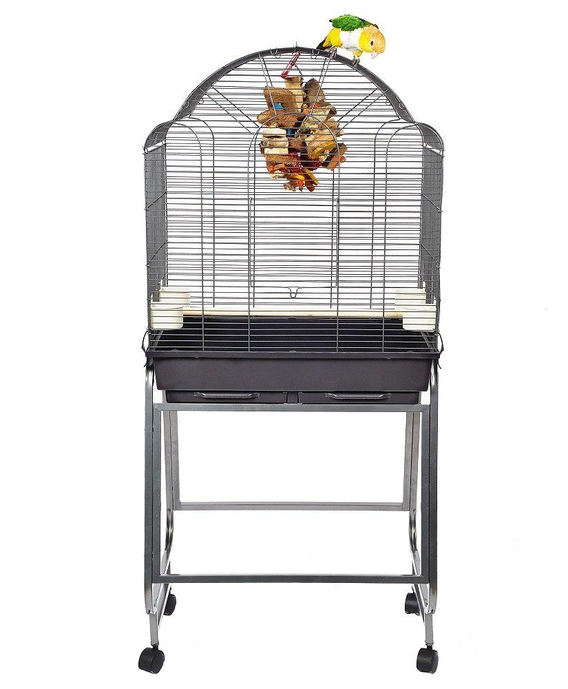 Montana Cages | Sittichkäfig, Käfig, Voliere, Vogelkäfig Memphis II - Antik Wellensittich