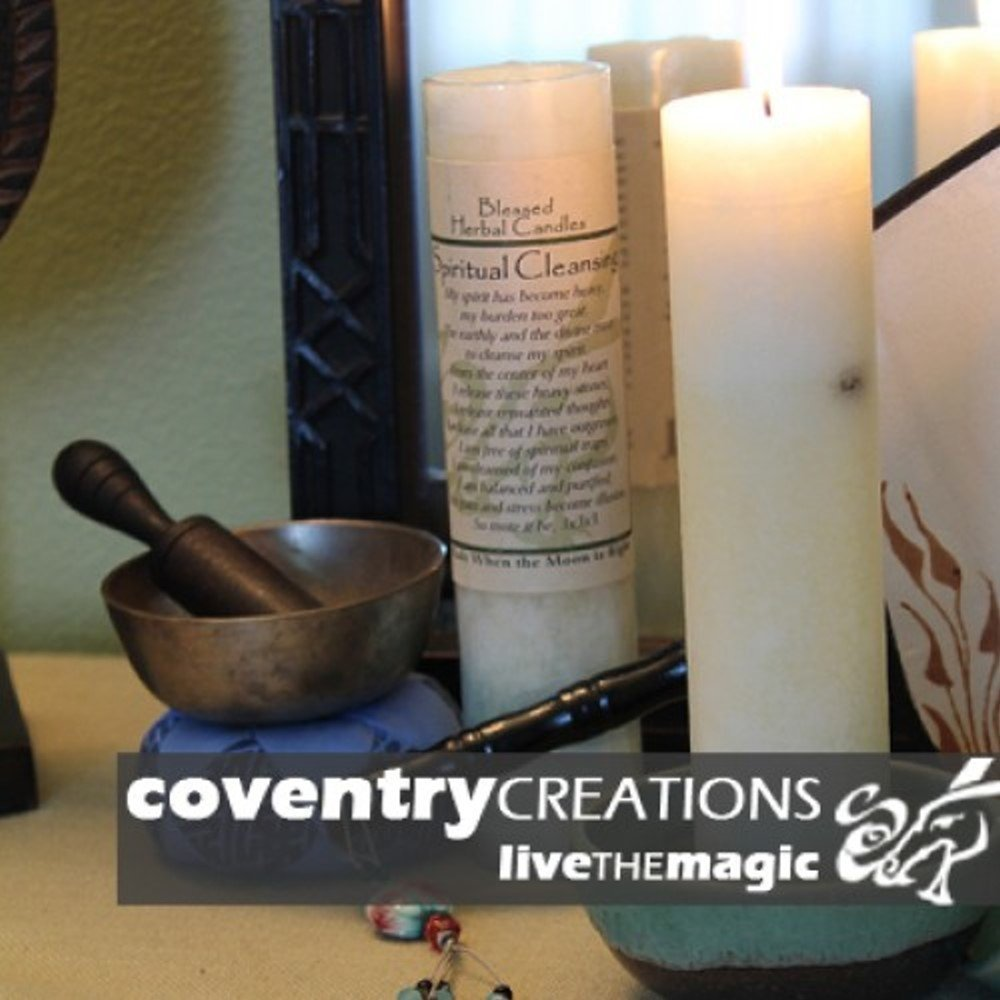 Blessed Herbal - Spiritual Cleansing Candle Coventry Creations BHC-SC