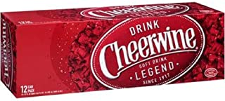 product image for Cheerwine Cherry Soda Drink (24 Cans)
