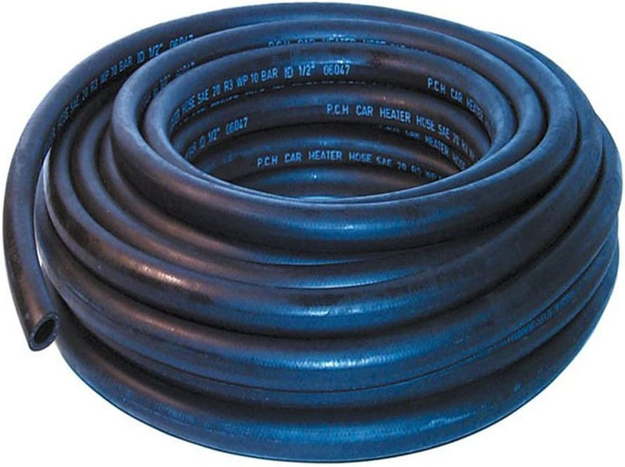 30mm ID Black 1 Metre Length Rubber Radiator Hose AutoSiliconeHoses
