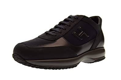 583b027842d Hogan Shoes Men Sneakers HXM00N0I980E1I710E Interactive MOD H 3D Size 9(43)  Blue