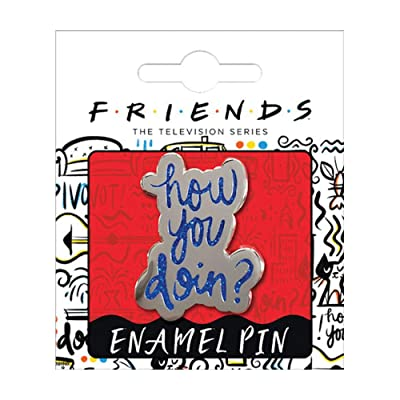 Ata-Boy Friends How You Doin Enamel Pin: Toys & Games