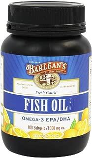 product image for Barlean's - Fresh Catch Fish Oil 100 Softgels/1000 Milligram (Orange Flavor)