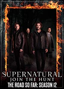 "Ata-Boy Supernatural Season 12 2.5"" x 3.5"" Magnet for Refrigerators and Lockers"