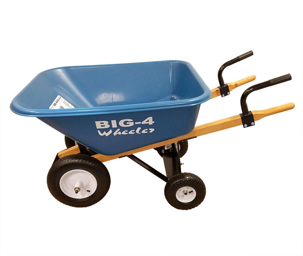 Big-4 Wheeler B4W-8EH 8 Cubic Feet Wheelbarrow, 8cu.'. by Big-4 Wheeler