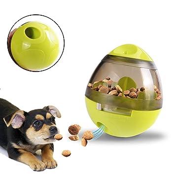MG MULGORE Pelota de comida para mascotas, juguetes para perros interactivos para el vaso La