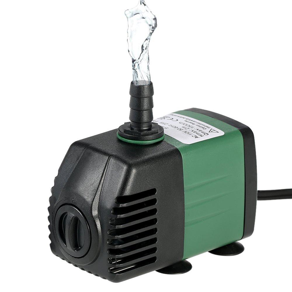 Decdeal Water Strider - 1500L/H 25W Bomba de Agua Sumergible con 2 Boquillas AC220