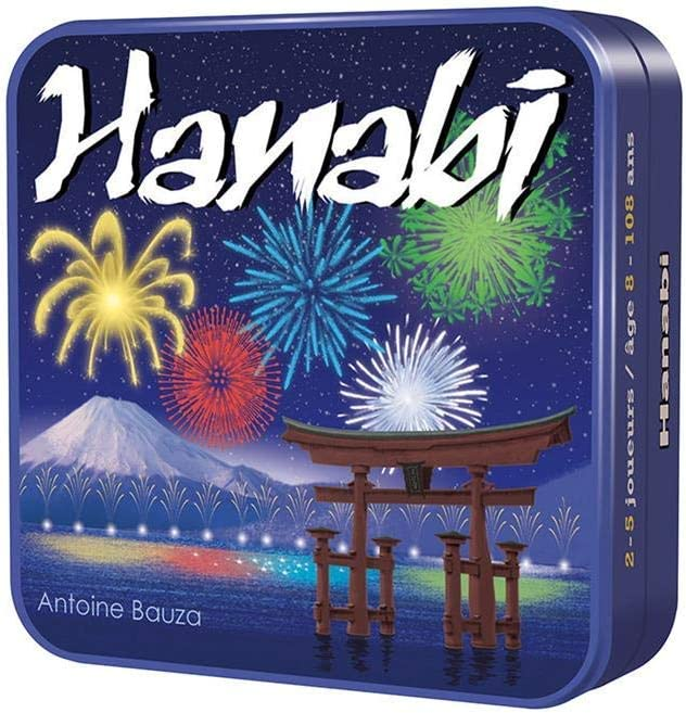 Hanabi INT30/CGHAN01-ES/GRE01, Juego de Mesa: Amazon.es: Juguetes ...