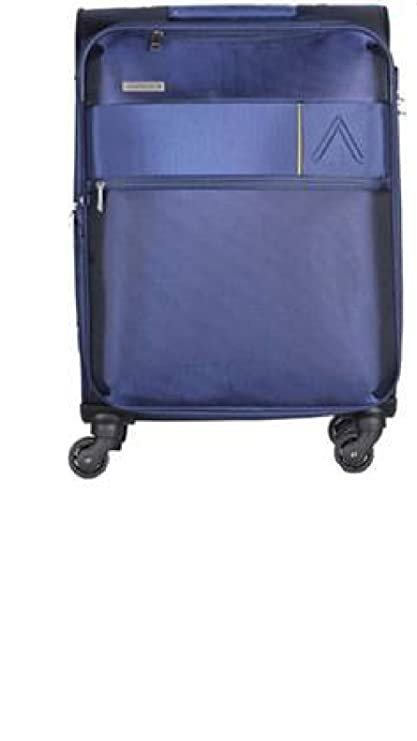 5e235013c Aristocrat Estate 58 cms Polyester Blue Softsided Cabin Luggage  (STESTWH59BLU)  Amazon.in  Bags