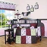GEENNY Boutique Crib Bedding Set, Love Circle, 13 Piece
