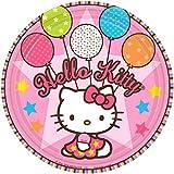 "Amscan Hello Kitty Balloon Dreams 7"" Paper"