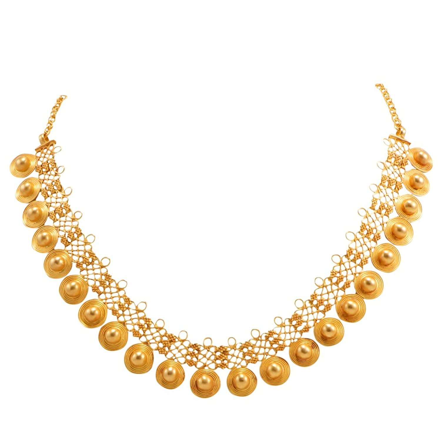 necklace best gold top light designs price india with rupees in weight