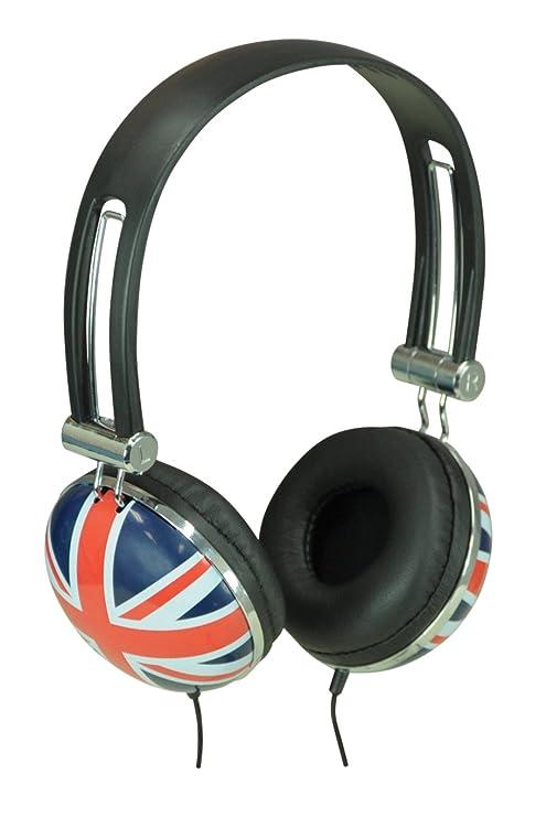SoundLab Stereo Union Jack Cuffie  Amazon.it  Strumenti musicali e DJ d8184e400917
