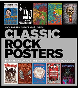 book cover of Classic Rock Posters