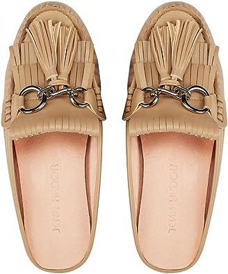 JENN ARDOR Chaussures Mules Tassel Mule Slip-on Flat Loafer Chaussures