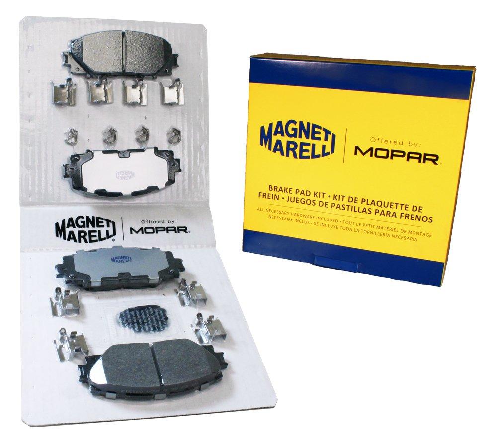Magneti Marelli by Mopar 1AMV31184A Disc Brake Pad Set