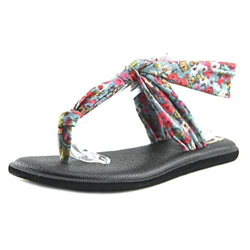 796cb718d414 Image Unavailable. Image not available for. Color  Sanuk Yoga Sling Ella  Prints Women US 5 Multi Color Thong Sandal