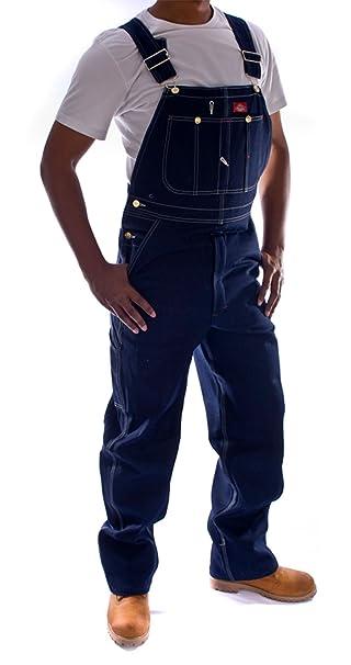 8e0567a1f3 Dickies Peto Vaquero - Color de Añil hombre Industriales monos ropa de  trabajo DickiesIndigo  Amazon.es  Ropa y accesorios
