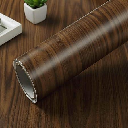 Lámina adhesiva de vinilo rústico sintética grano de madera papel ...