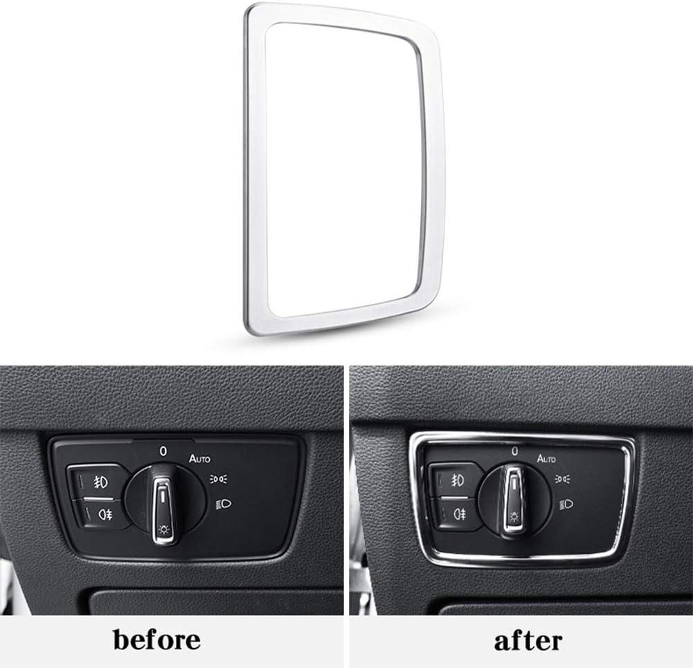 Innenbeleuchtung Schalterleisten Dash Button Overlay Passend F/ür Passat B8 Super11Six Scheinwerfer Schalter Taste Cover B8 Variant Scheinwerferschalter Blende