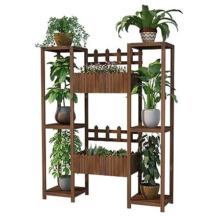 Amazon.com: CATRP - Estantería de balcón con 3 estantes de ...