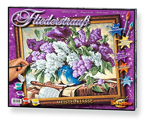Schipper Lilacs Paint-by-Number Kit by Schipper