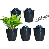 5 Pack Lazy Flower pots Water Hanging Plants Pot/Self Watering Planter,Succulent Plants and Small Flower pots Plants…