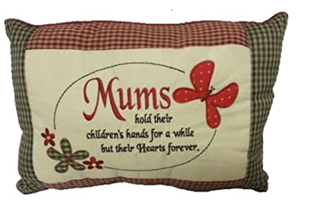 Mums Hold Their Childrens Hands Cushion Decorative Pillow Ideal Unique Children's Decorative Pillows
