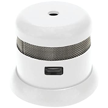 Micro detector de humos fotoeléctrico: Amazon.es: Bricolaje y herramientas