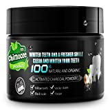 Teeth Whitening Powder, Chimocee Activated Coconut Charcoal Natural Teeth Powder for Stronger Healthy Teeth, A Whiter Smile - Safe to Use