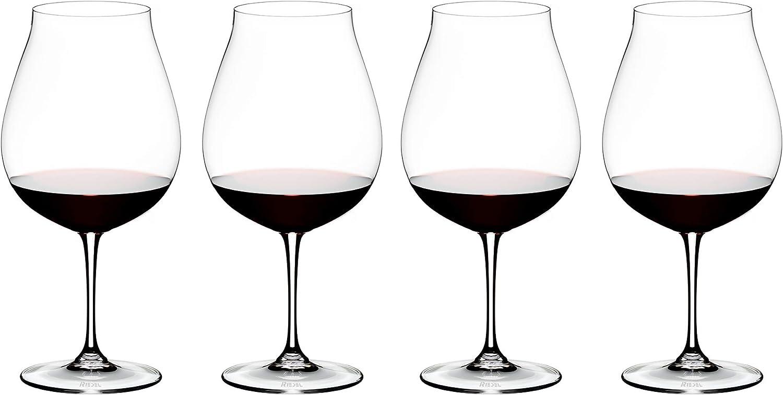 Riedel Vinum New World Pinot Noir Vaso de cristal con textoPay 3 Get 4 5416//67-1
