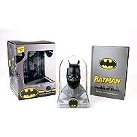 Batman: Deluxe Cowl: Lights up!