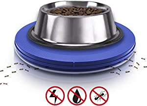 Yuwoda Ant Proof Cat Dog Bowl Tray - Anti Ant Pet Food Dish Safe Ant Killer Indoor No Chemical No Water Needed Different from Traditional Ant Trap