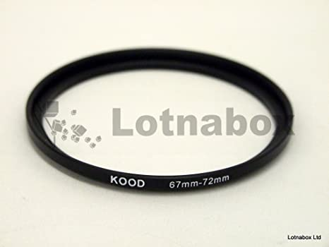 Phot-R 62-67mm Metal Stepping Up Ring 62mm-67mm 62-67 Step-Up Ring Adapter