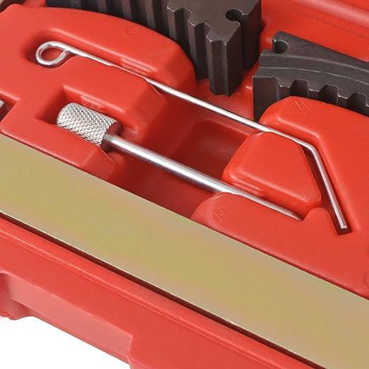 vidaXL Kit Herramientas Sincronización Motor Diversos Modelos Coche Cigüeñal: Amazon.es: Coche y moto