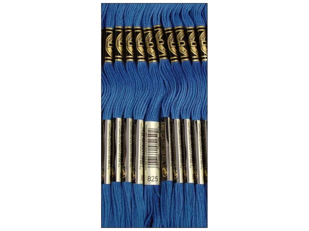 DMC Thread 6-Strand Embroidery Cotton 8.7 Yards Dark Blue 117-825 (12-Pack)
