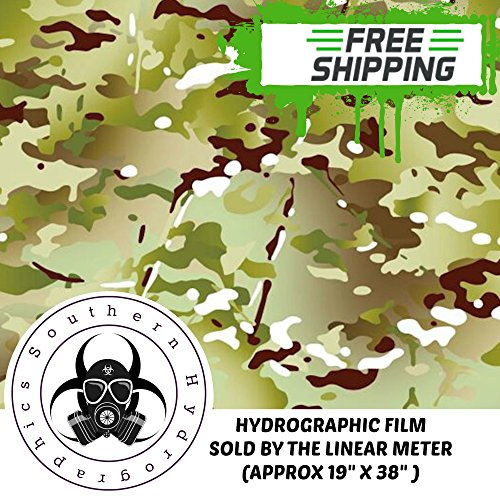 Hydrographics Film Water Transfer Printing Film Hydro Dipping Dip Film Hydrographic Film Linear Meter Army Camo Hydrograhics Film Camouflage Dip Film