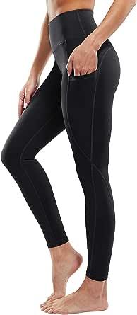 G4Free Dames Hoge Taille Yogabroek met Zakken Yoga Leggings Sport Yoga Fitness Spandex Gym Broek