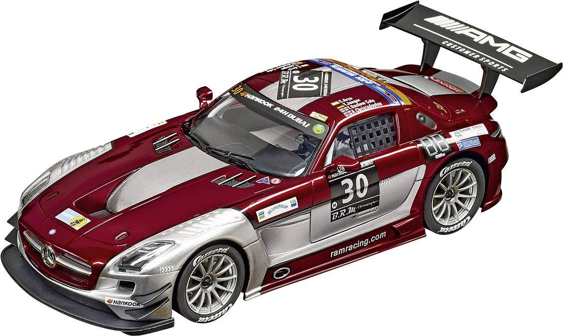 Carrera 20023864 Digital 124 Mercedes-Benz SLS AMG GT3 Ram Racing, No.30 Hankook 24h Dubai 2015: Amazon.es: Electrónica