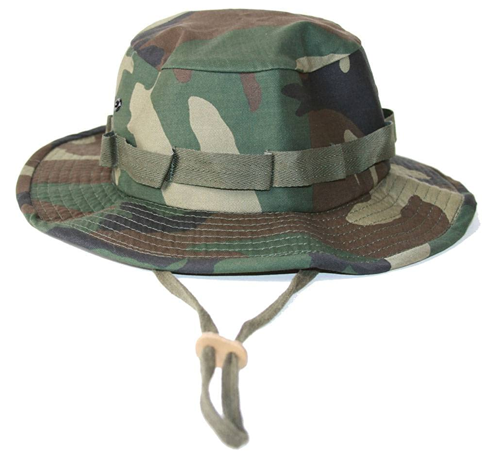 81d2e917bc3ed Amazon.com  F U Military Boonie Hat with Drawstring Boonie Hat -(Many Colors)
