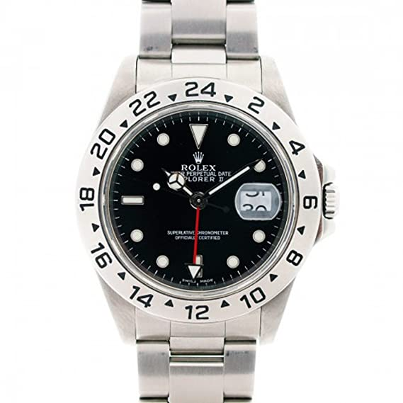 Rolex Explorer II automatic-self-wind Negro 16570 – Reloj de hombre (Certificado