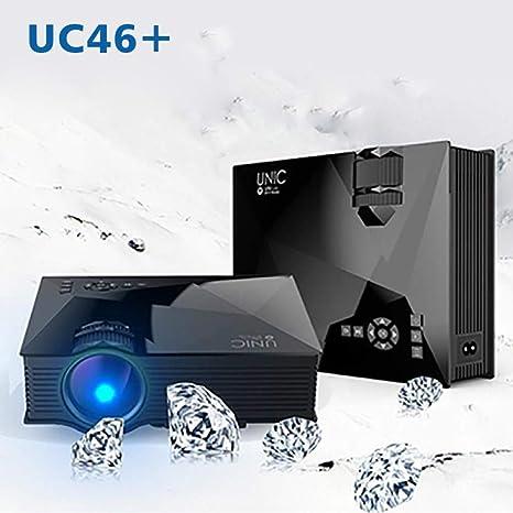 ZCCZ-AA Proyector WiFi inalámbrico Uc46 + Soporte Conexión por ...