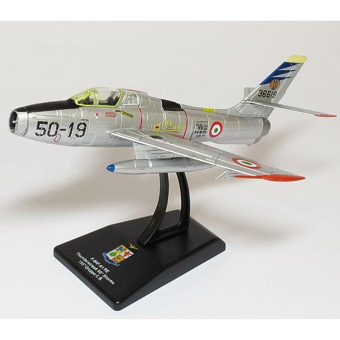 Die cast 1//100 Modellino Aereo Aircraft F-84F Thunderstreak Getti Tonanti