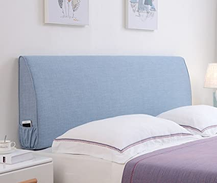 Amazon.com: Cushions Bedside linen pillowcase wall soft bag ...